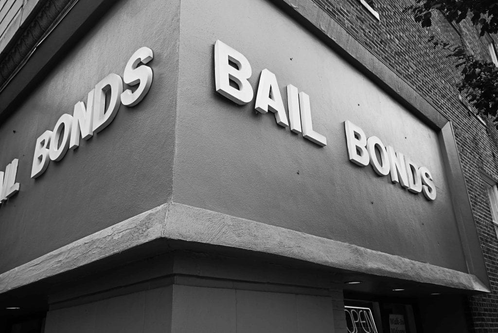 Bail Bond office building - Posting Bail