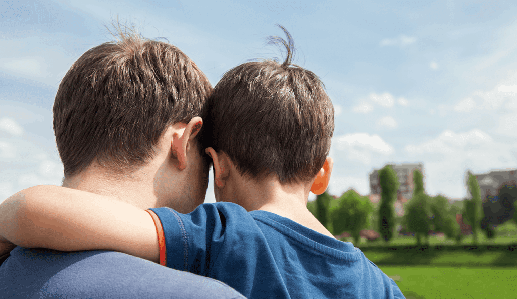 Child Custody - Father and Son